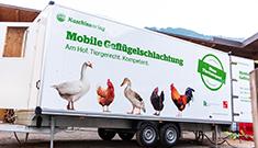 Mobile Geflügelschlachtung