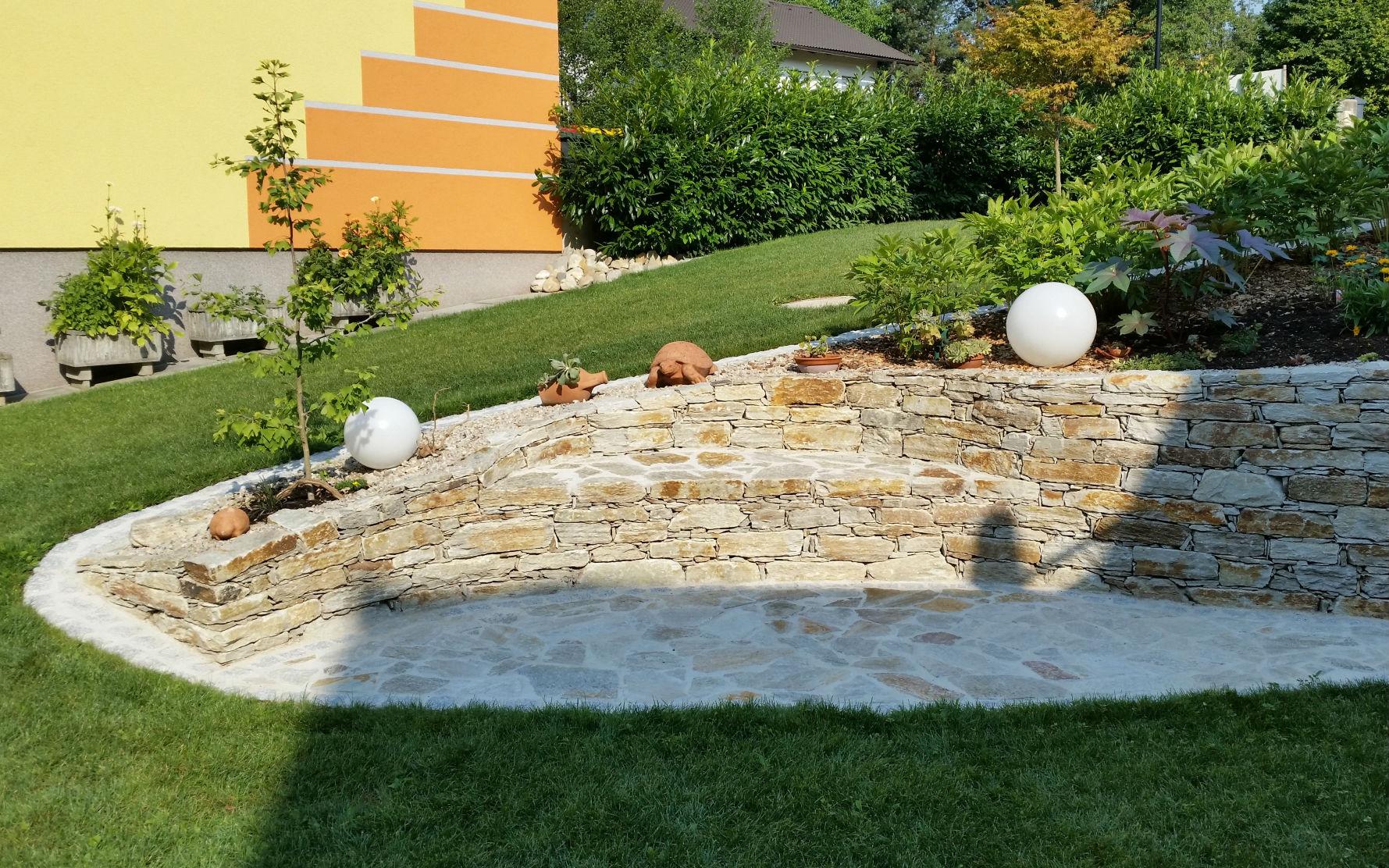 Gartengestaltung maschinenring erlauftal - Gartengestaltung sitzplatz ...
