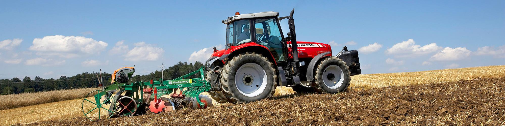 Agrardienstleistungen Ackerbau vom Maschinenring