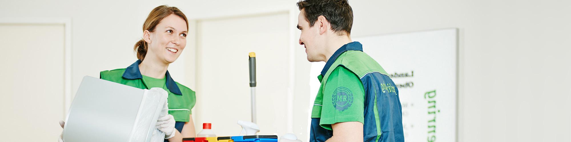 Objektbetreuung Reinigungsdienste vom Maschinenring