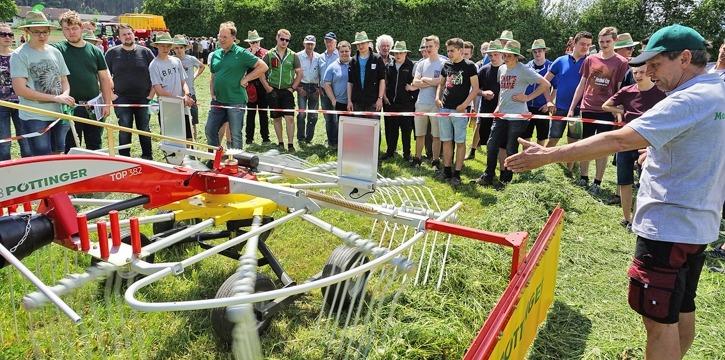 Maschinenring Grünlandtag Rotholz 2018