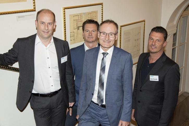 Hermann Katz, Mario Hütter, Heinrich Prankl, Johann Gasteiner
