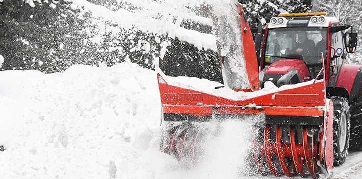Winterdienst und Schneeräumung in Tirol - Winter 2019