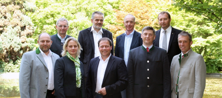 Gemeinsam zuversichtlich in die Zukunft: Der neue Vorstand der Maschinenring Personal und Service eGen.