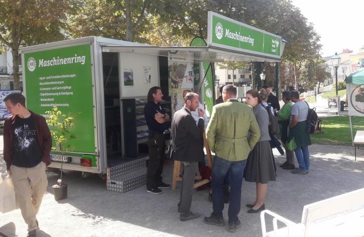 Zahlreiche Besucher informierten sich über unsere Baumdienstleistungen