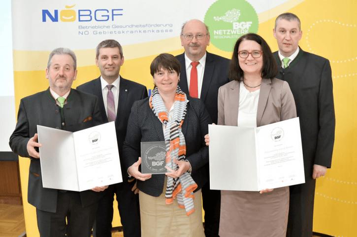 BGF Gütesiegel Wiederverleihung 2019