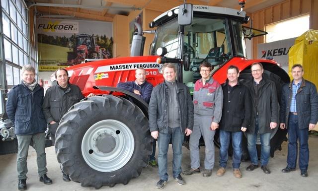 Gruppenfoto Traktorgemeinschaft Grieskirchen