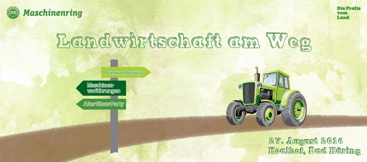 Landwirtschaft am Weg - Maschinenring Kufstein
