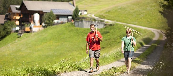 Tageseinsätze ohne Übernachtung bei Freiwillig am Bauernhof in Tirol