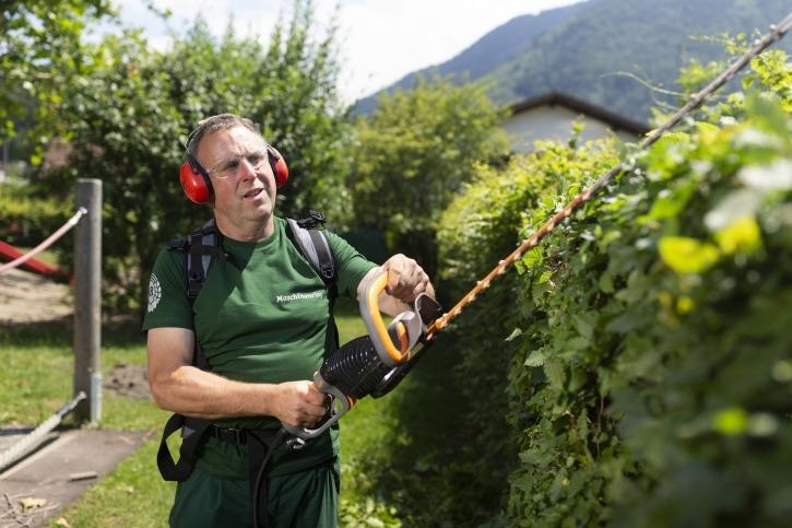 Der westlichste Bauer Österreichs ist Teil des Gärtnerteams des Maschinenrings