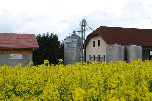 Anlage Ölmühle Aistersheim - Hausrucköl