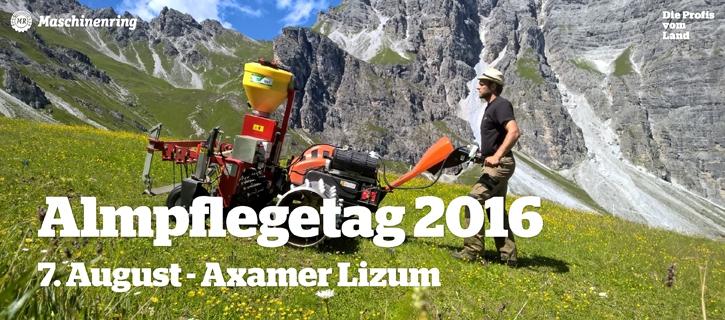 Almpflegetag 2016