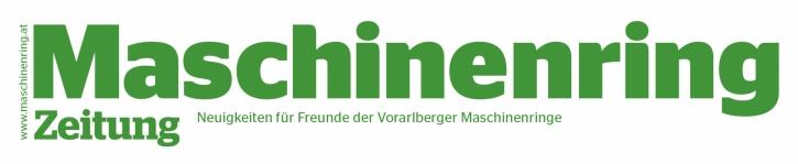 Maschinenring Zeitung Vorarlberg