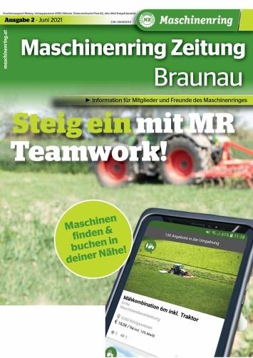 Titelseite der Juni Ausgabe der MR Zeitung