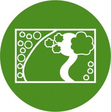 Icon Gartengestaltung Planung Ihrer Außenanlagen vom Maschinenring
