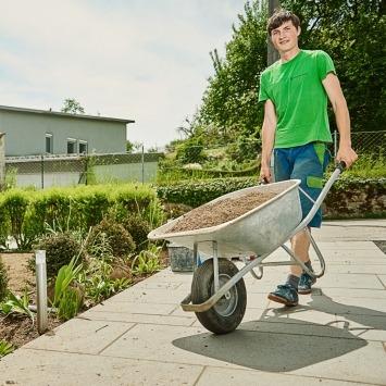 Garten anlegen lassen vom Maschinenring