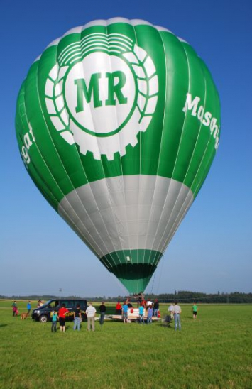 Ballonfahrt mit dem Maschinenring Ballon