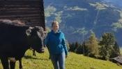Sophie war vor dem Studium acht Monate auf einem Bauernhof