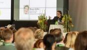 Zukunftsforscher Klaus Kofler beim Vortrag