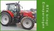 Traktor mit RTK Signal