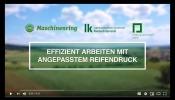 Effizient arbeiten mit angepasstem Reifendruck (2018)