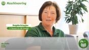Brigitte Schoder, Bäuerin, arbeitet auch beim Maschinenring