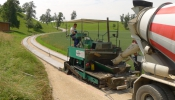 Betonspurwegebau auf Güterwegen