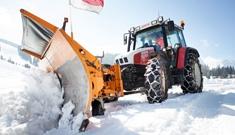 Winterdienst Schneeräumung Maschinenring