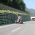 Böschungsmäher Autobahn