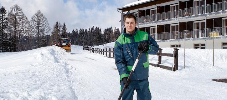 Komfortpaket Sicherheit – Winterdienst vom Maschinenring
