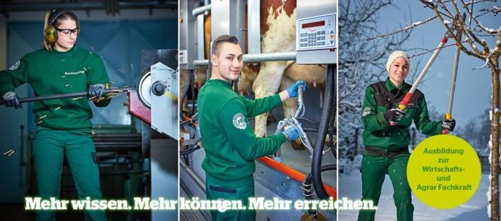 Auch 2019! Ausbildung zur Wirtschafts- und Agrarfachkraft beim MR Wiener Becken