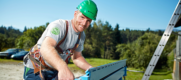 Mitarbeiter Baubranche