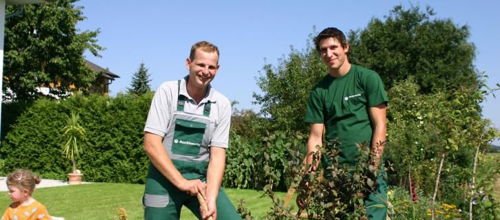 Grünraumpflege, Gartengestaltung