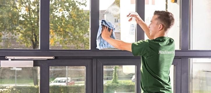 Reinigung Glasflächen