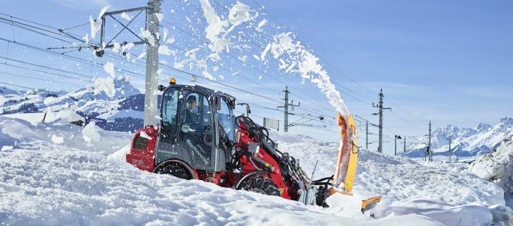 Winterdiensteinsatz Maschinenring
