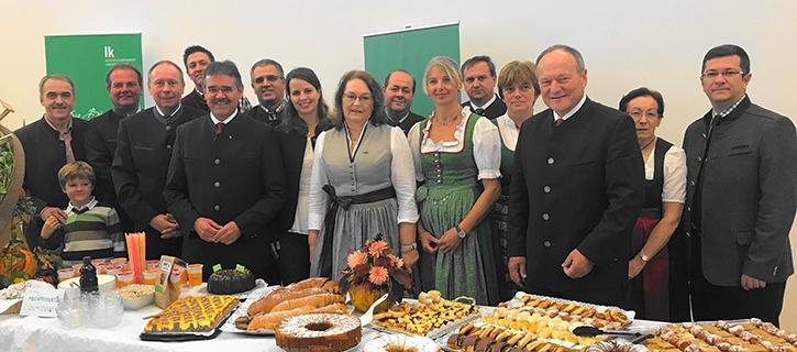 Nachhaltiges Frühstück der Bäuerinnen des Bezirkes Mistelbach
