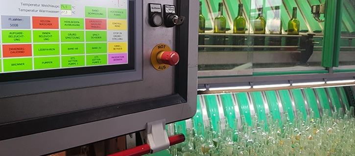 Flaschenwaschanlage Hohenruppersdorf