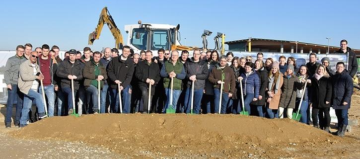 Bauprojekt Maschinenring Service NÖ-Wien - Maschinenring Region Weinviertel
