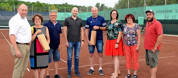 Tennisplatz Ladendorf