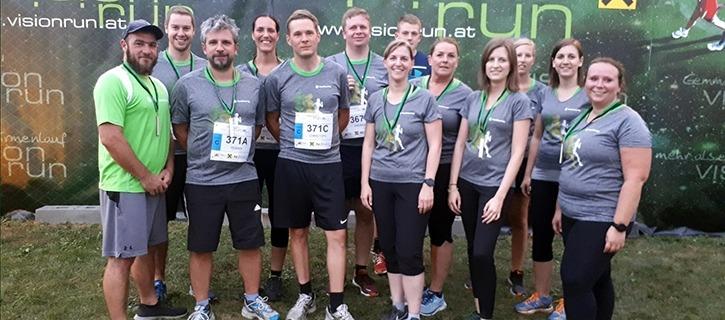 Maschinenring Team beim Vision Run 2019!
