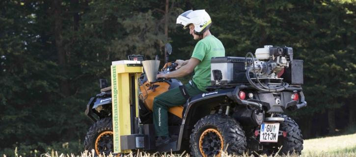 Maschinenring Nährstoffmanagement: sachkundige Bodenprobe