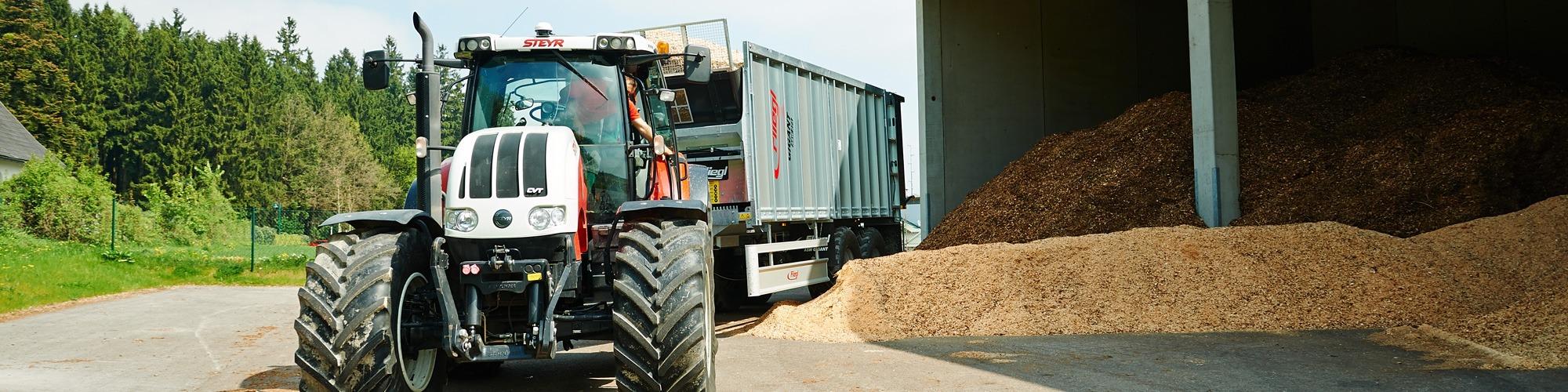 Bioenergie Biomasse vom Maschinenring