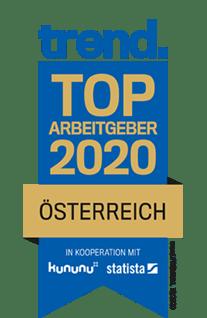 Trend Top Arbeitgeber 2020 Österreich