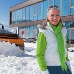 Schneeräumung in Österreich vom Maschinenring