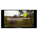 Screenshot Maschinenring Cluster Video Berggebiet