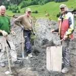 Bepflanzung der Tunneleinhausung Zederhaus