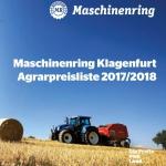 Agrarpreisliste 2017/2018