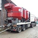 Getreidefuttermischwagen