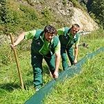 Amphibienzaun Maschinenring Land Tirol