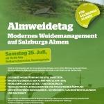 Almweidetag: Modernes Weidemanagement auf Salzburgs Almen